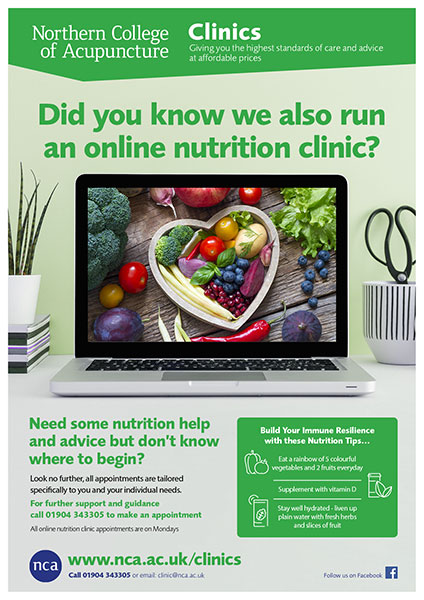 Clinics Online Nutrition Poster