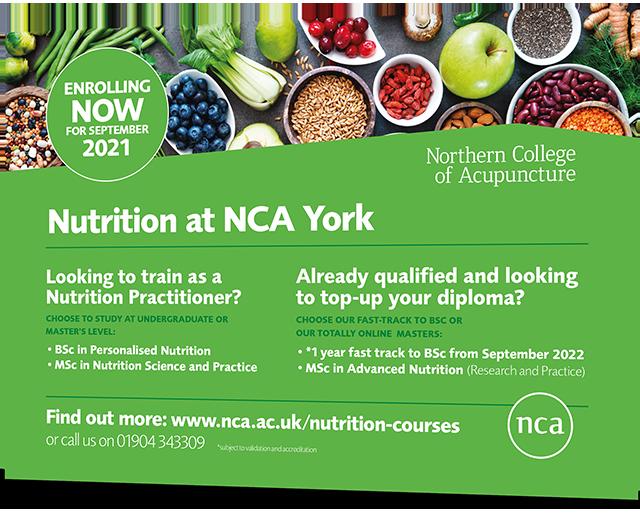 NCA Nutrition Ad