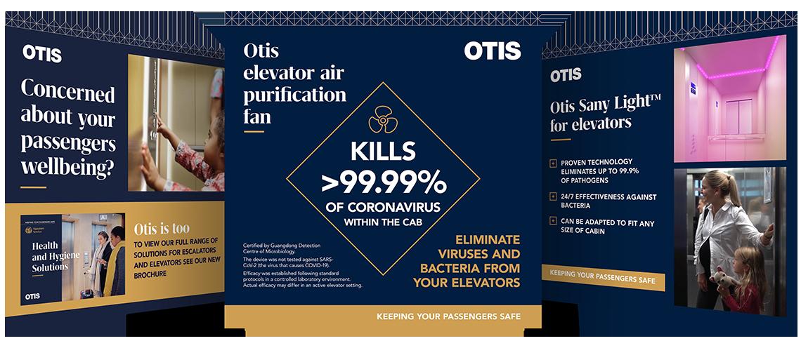 Otis social media post imagery